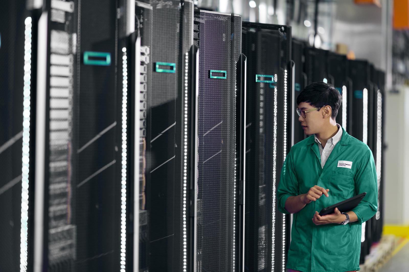 HPE postaví u českých susedov najvýkonnejší superpočítač.