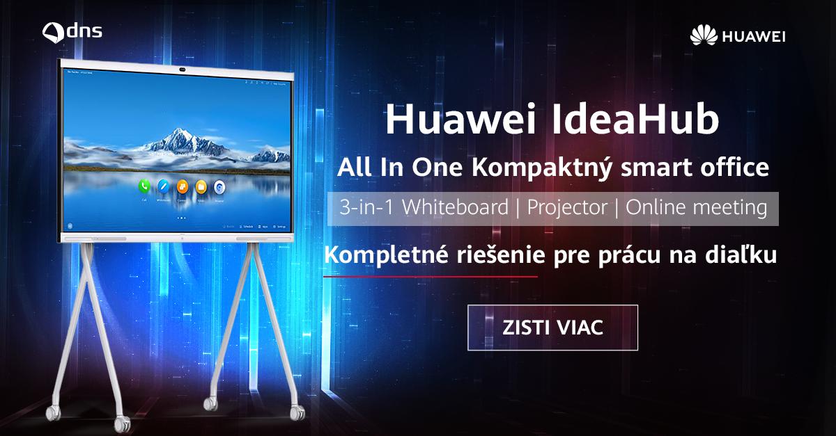 Huawei IdeaHub - kompaktný All-in-One smart office