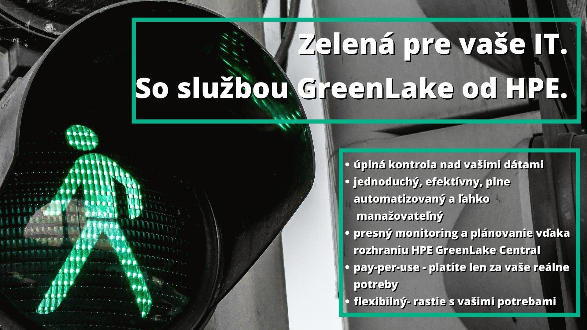 Zelená pre Vaše podnikové IT.
