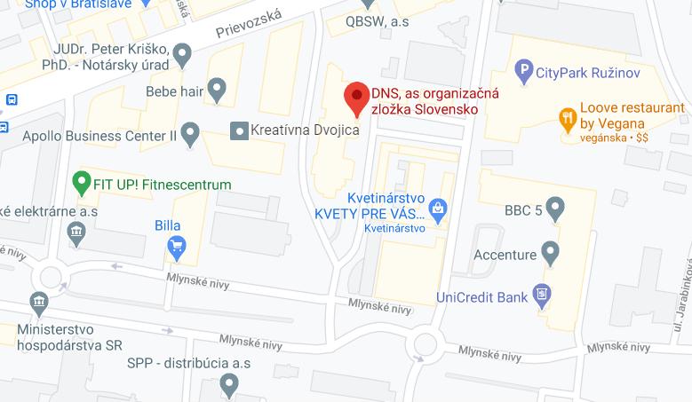 DNS a.s., organizačná zložka Slovensko